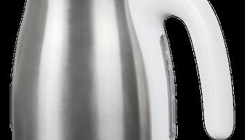 NORDIC HOME God Morgon vattenkokare, 1,7l, 1850-2200 watt, rostfritt stål