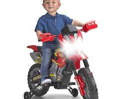 MOTORCYKEL FEBER CROSS 400F 6 V ELEKTRISK (74 X 50 X 27 CM)