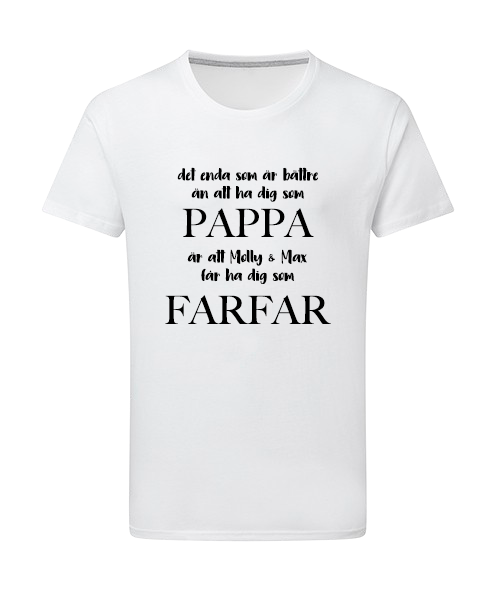 Herr T-shirt • Morfar/Farfar