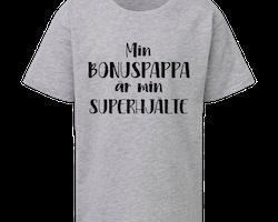 Barn T-shirt - BONUSPAPPA - Superhjälte