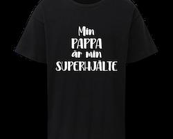 Barn T-shirt • Superhjälte