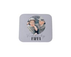 Magnet, 5x5cm • Vi älskar dig pappa