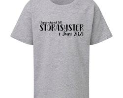 Barn T-shirt • Syskon #2