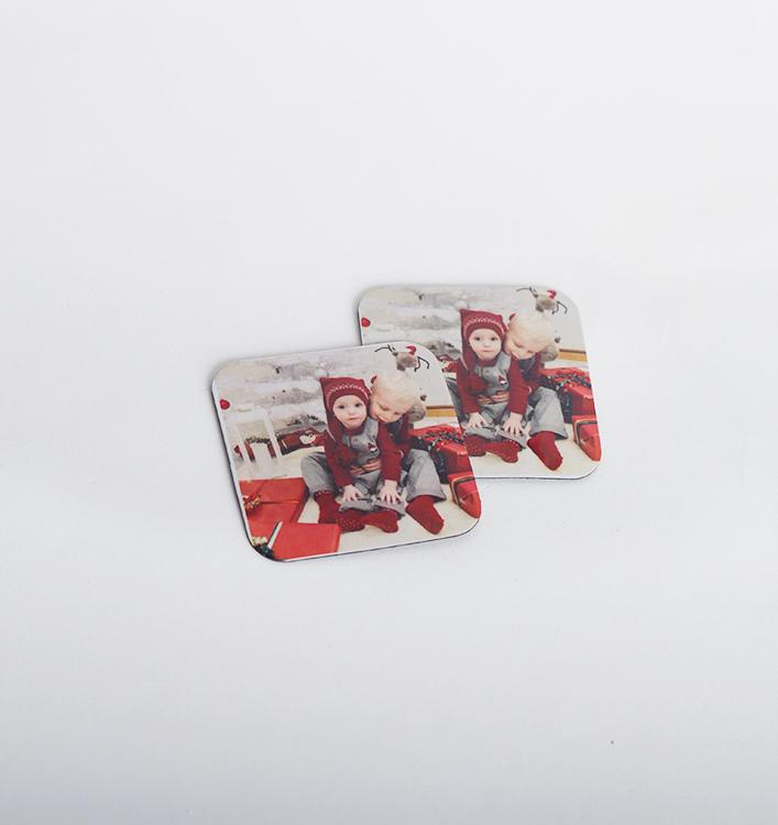 Magnet, 5x5cm • Valfri bild #1