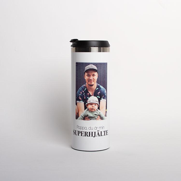 Termosmugg • Pappa, Superhjälte