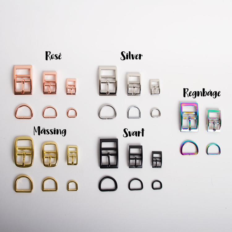 Halsband, halvstryp • 12 mm