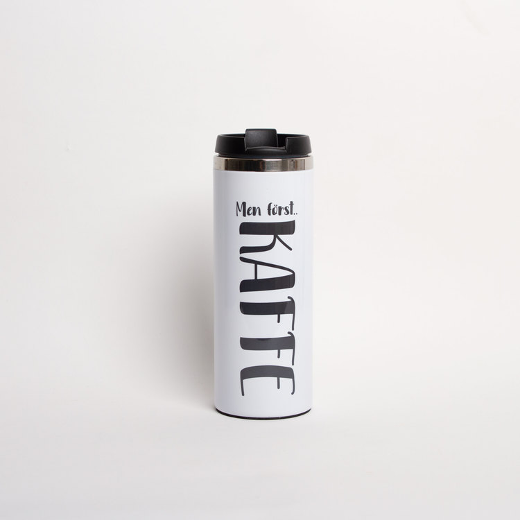 Termosmugg • Men först.. KAFFE