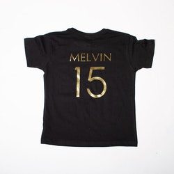 Barn T-shirt • Namn & Nummer