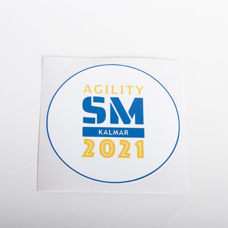 Klistermärke, 1st • Agility SM 2021 Kalmar
