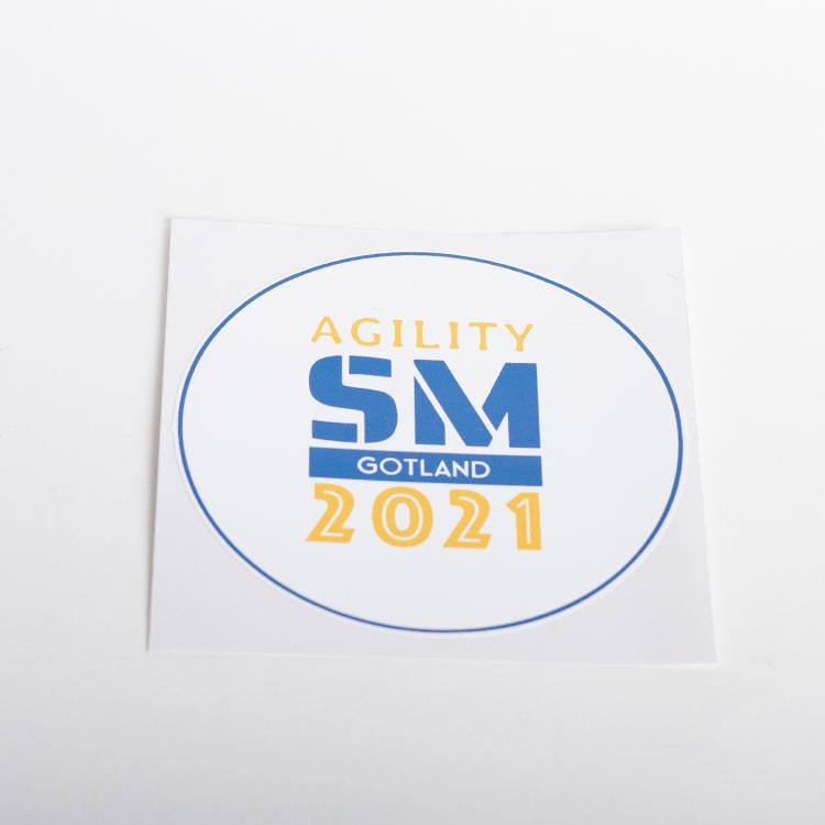 Klistermärke, 1st • Agility Lag-SM 2021 Gotland