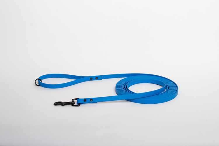 BioThane® koppel ELECTRIC BLUE • 12mm