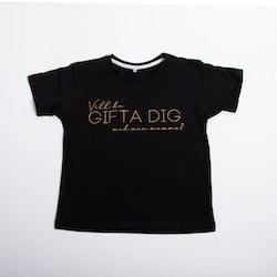Barn T-shirt • Vill du GIFTA DIG med min mamma?