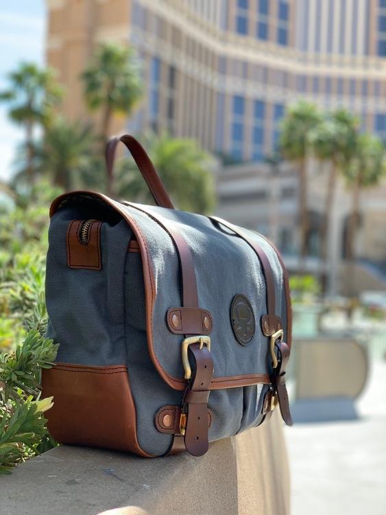"""Canvas Väska - """"Las Vegas"""""""
