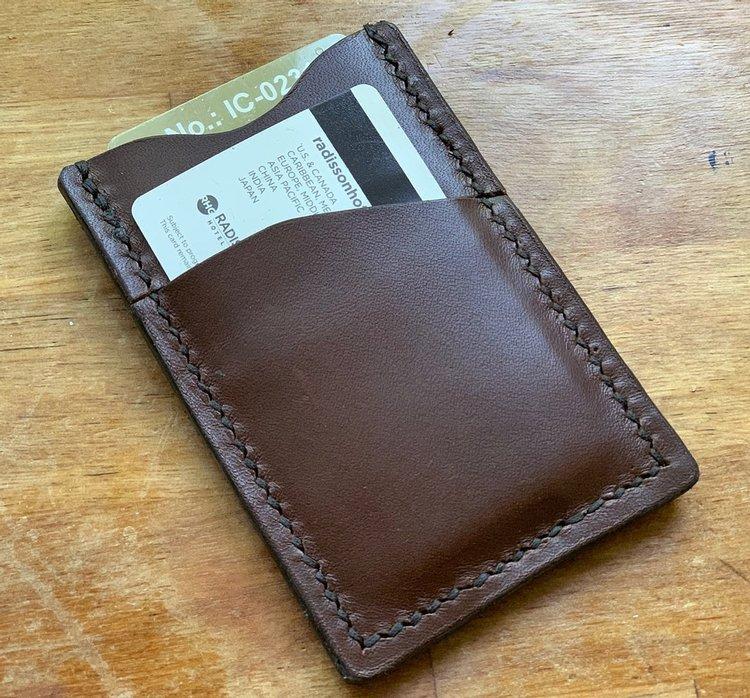 Kreditkortshållare - stående