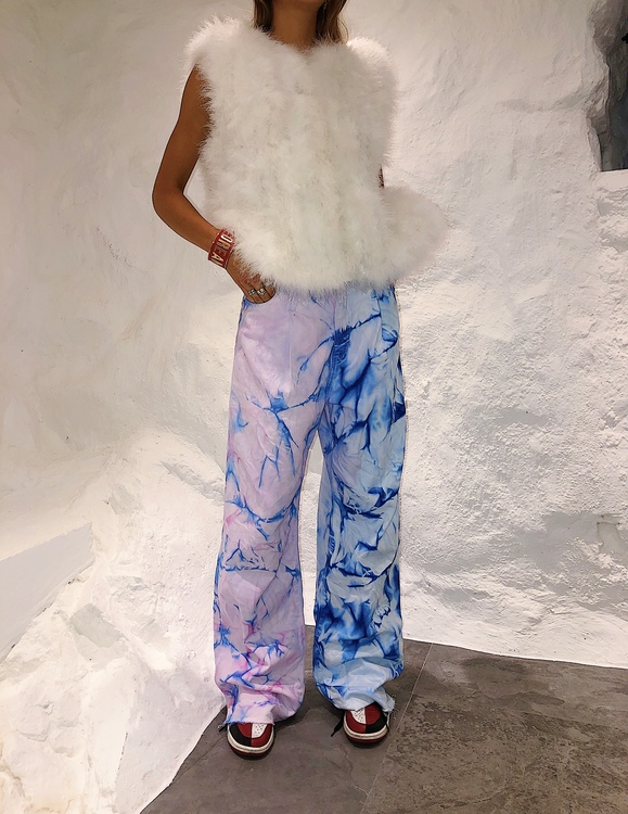 Cotton Candy Circus Wide Leg Jeans