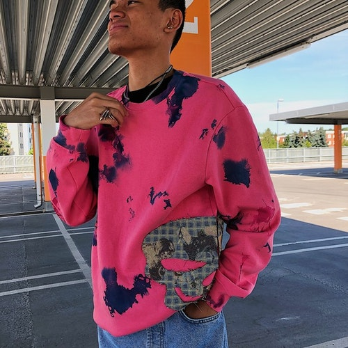 Pink Concreate Sweater