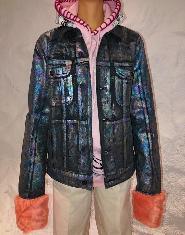 Fur-Ever Denim Jacket