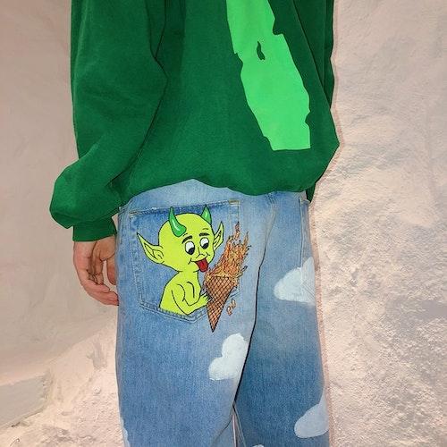 Hot Ass Hell Jeans, Green Devil