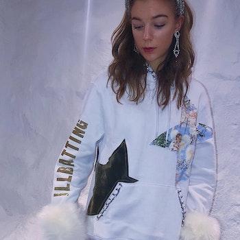Snow Angel Hoodie
