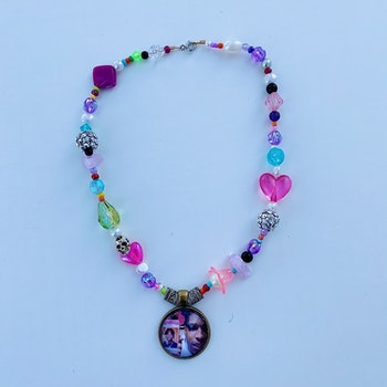 We look nothing alike Charm Necklace