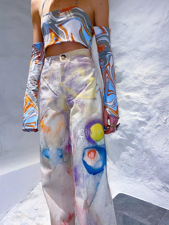 Marsian Crater Party Pants