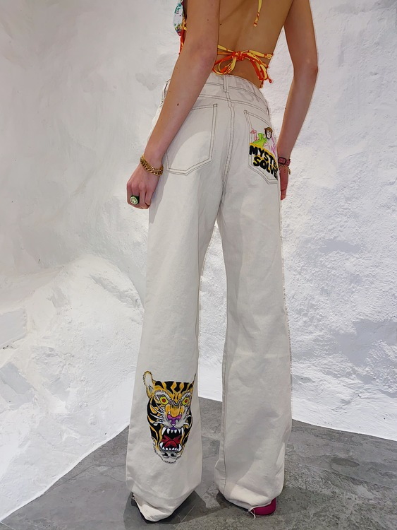 Wise Shaggy Summer Jeans