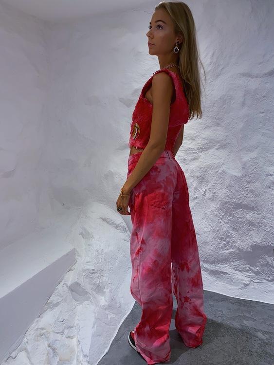 Extravagant Pink Top