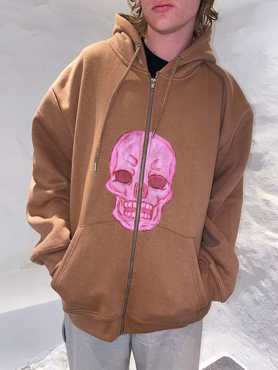 Cry about it, Look hot & Move on Hoodie brown