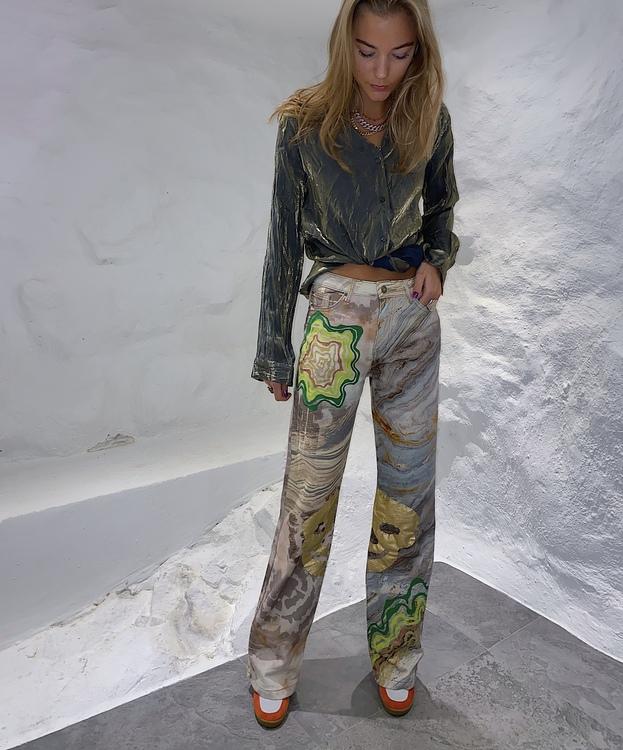 Glamorously Bad to the Bone Jeans