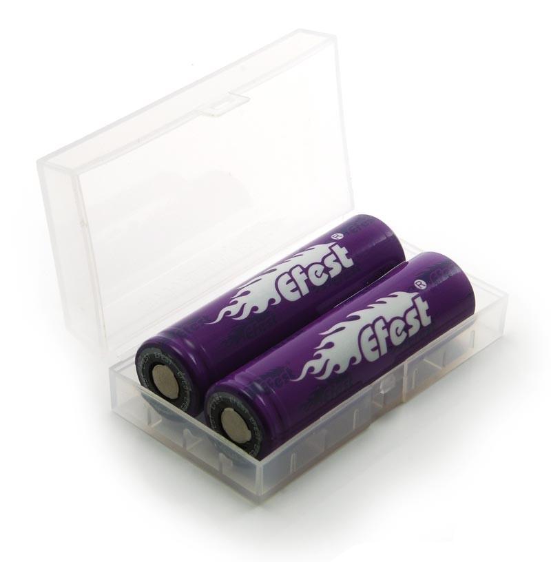 Batteribox 2 x 18650 / 4 x 18350