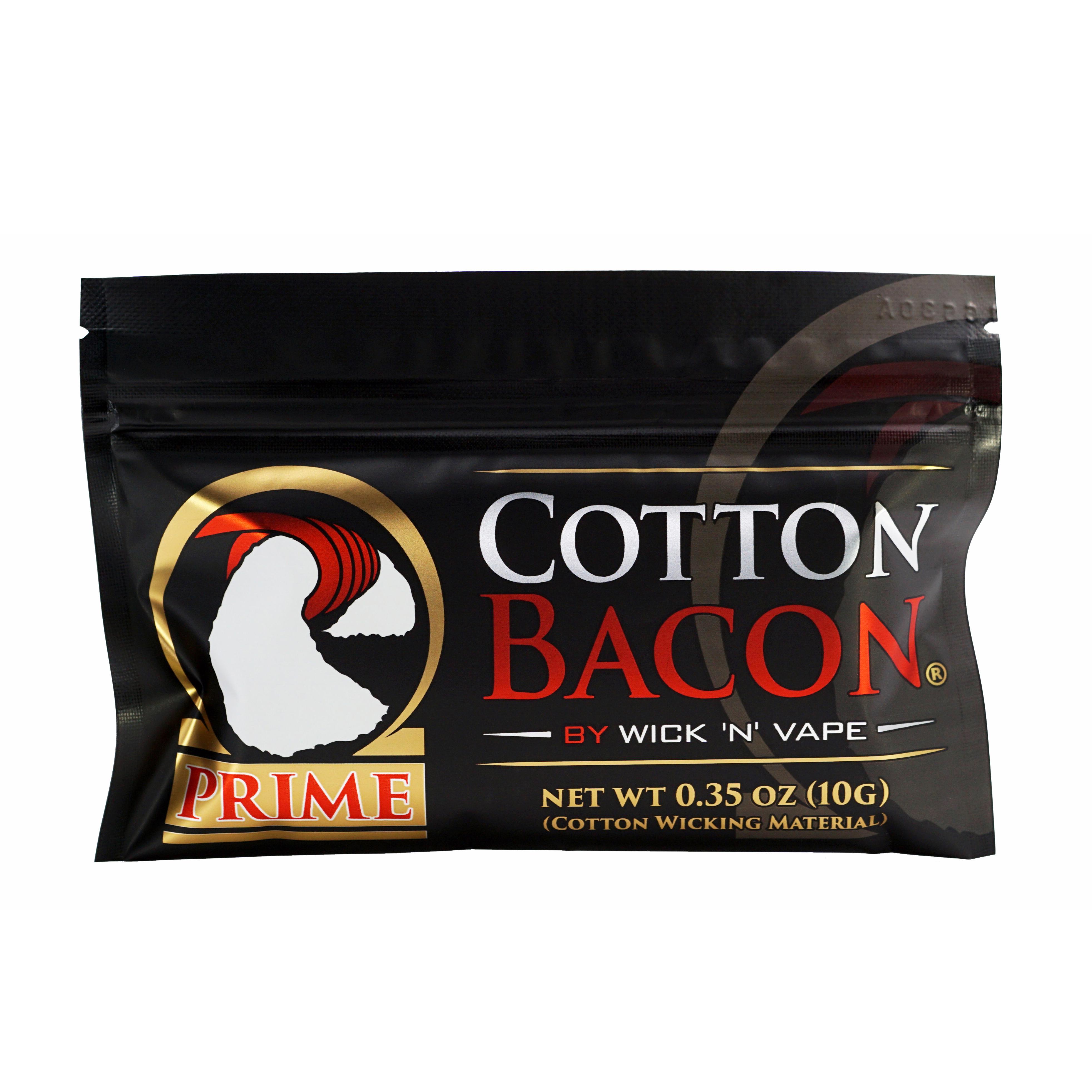 Wick 'N' Vape – Cotton Bacon Prime