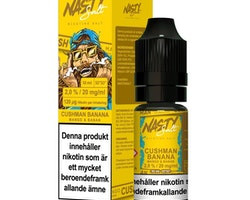 Nasty Juice - Cushman Banana (10ml, 20mg nikotinsalt)