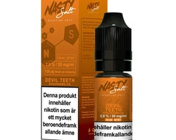 Nasty Juice - Devil Teeth (10ml, 20mg nikotinsalt)