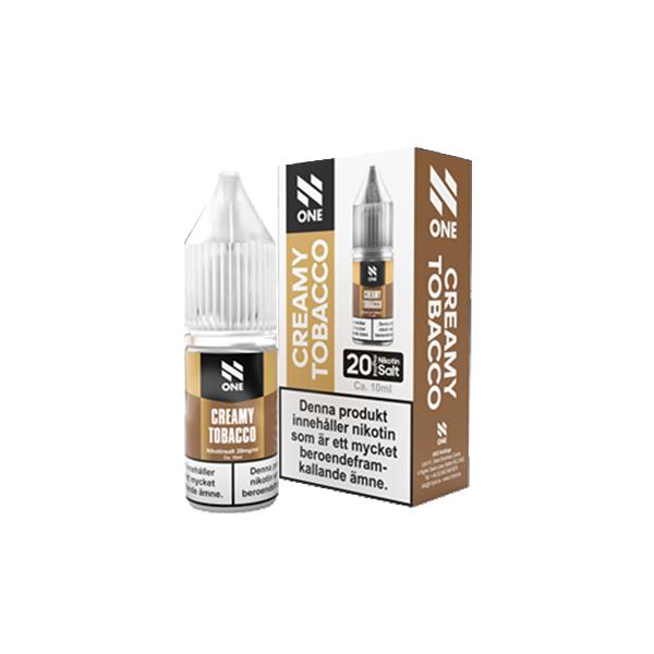 N One - Creamy Tobacco 10ml (20mg Nic-salt)