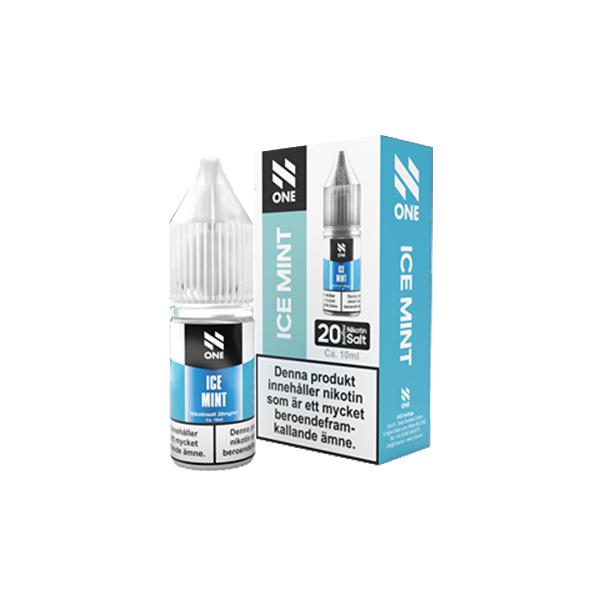 N One - Ice Mint 10ml (20mg Nic-salt)