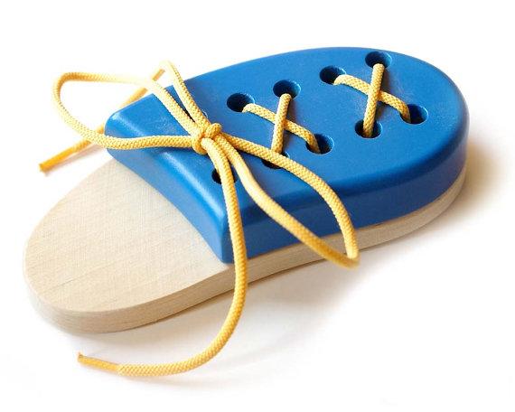 Knyta skorna (Handgjort)