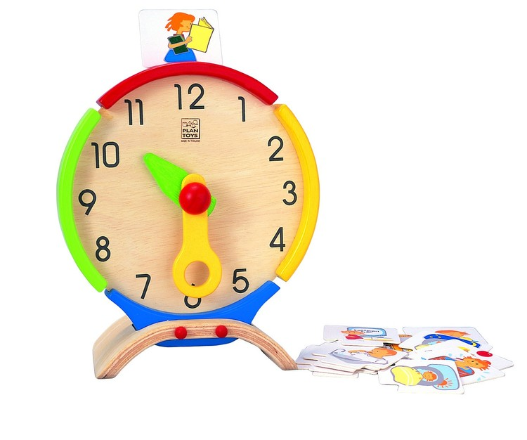 Lära klockan (Plantoys)