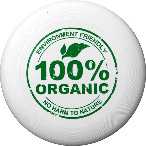 Miljövänlig ekologisk frisbee