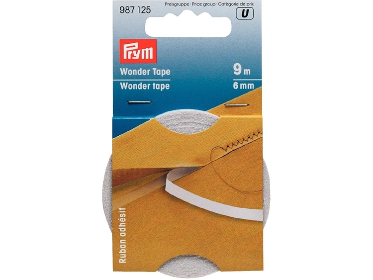 Prym Wonder Tape– transparent – forsvinner i vask