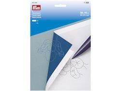 Prym Transferpapir 56x40cm – 2 ark hvit/blå