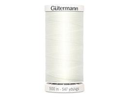 Gutermann col.111 melkehvit-500 m