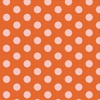 Tilda Medium Dots- orange