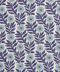 Liberty-Sweet Marigold - Hvit med blå og grønne blomster