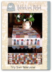 Tiny Town Table Runner
