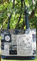 Blue Butterfly Bag- Veske