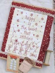 Happy is the Heart that Stitches- Sy folder