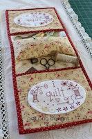 I stitch i quilt-Stitchery