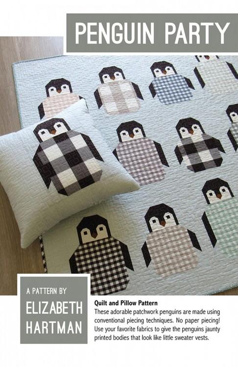 Penguin Party- teppe og pute