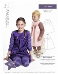 Minikrea - Kjole 0 - 10 År