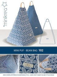 Mini puff- bean bag